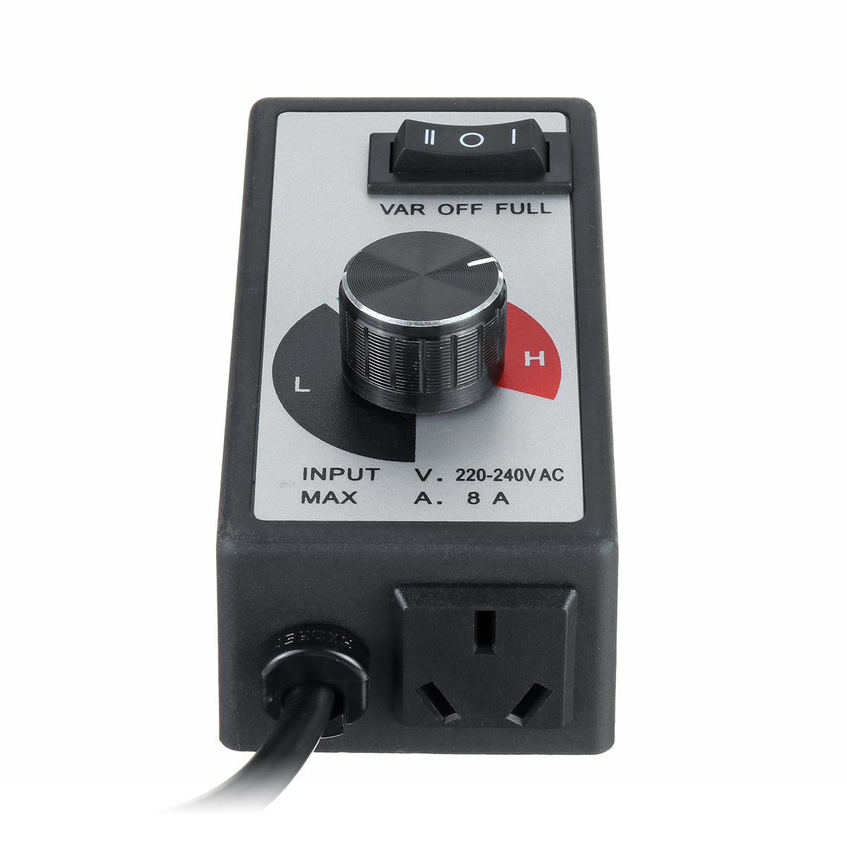 8A Fan Variable Speed Controller Router Electric Regulator Controls 220V-240V