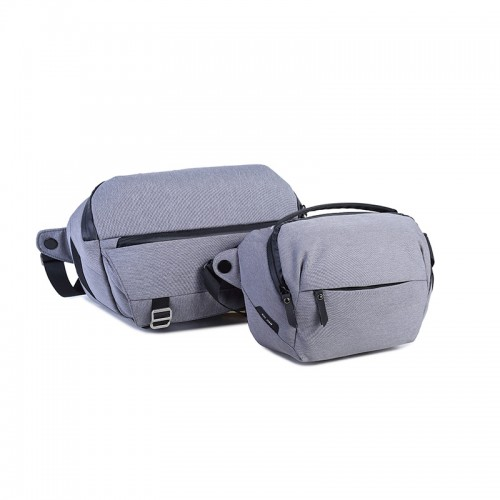 Xiujian Water-resistant Shockproof DIY Sling Storage Carry Travel Bag for Canon for Nikon DLSR Camera Flash Lens