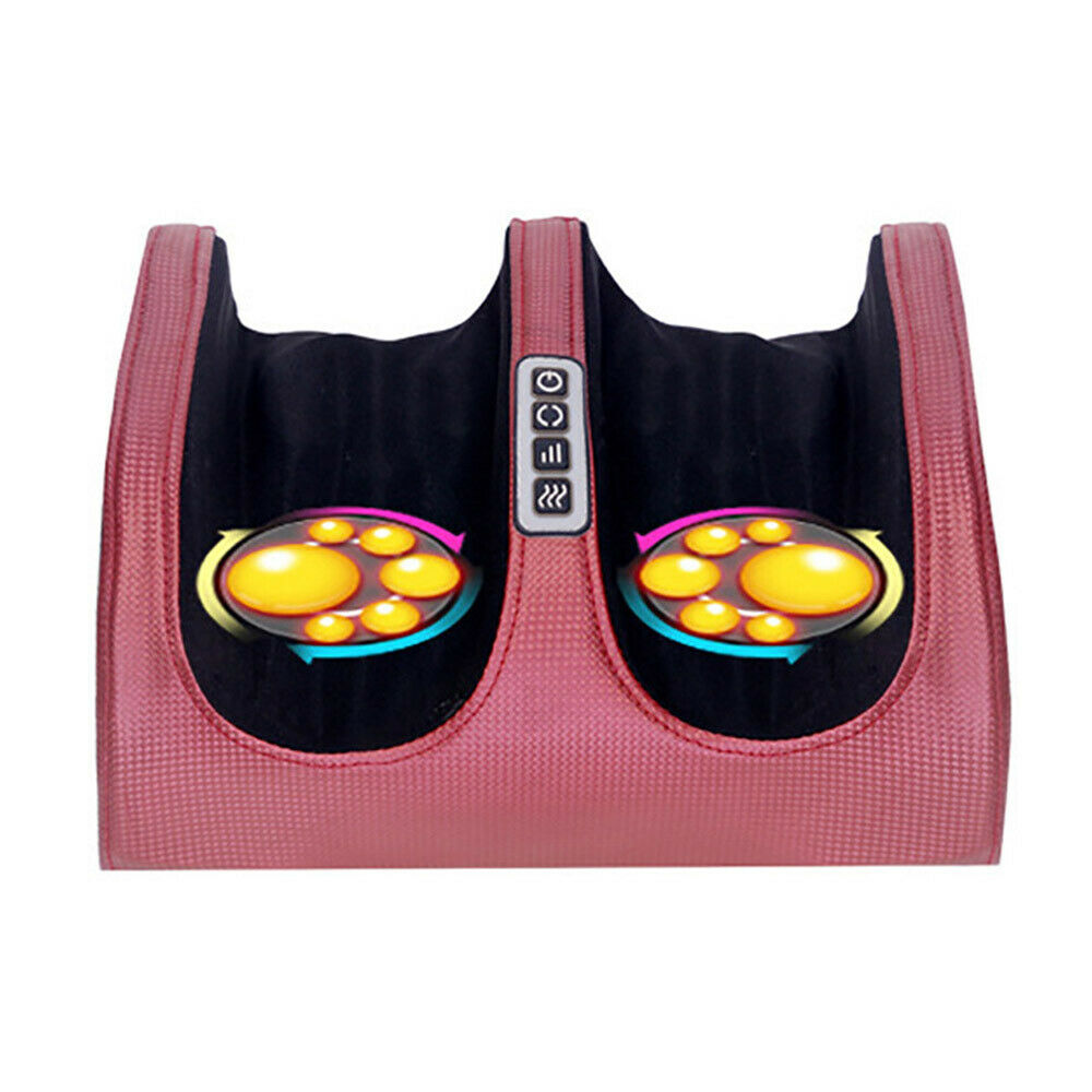 Electric Foot Massager Portable Smart Timing Hot Compress Heating Massage Device Promote Blood Circulation