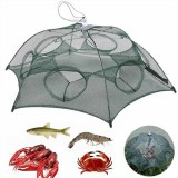 ZANLURE Folding Fishing Net Fishing Bait Net Crab Fish Minnow Crawfish Shrimp Net