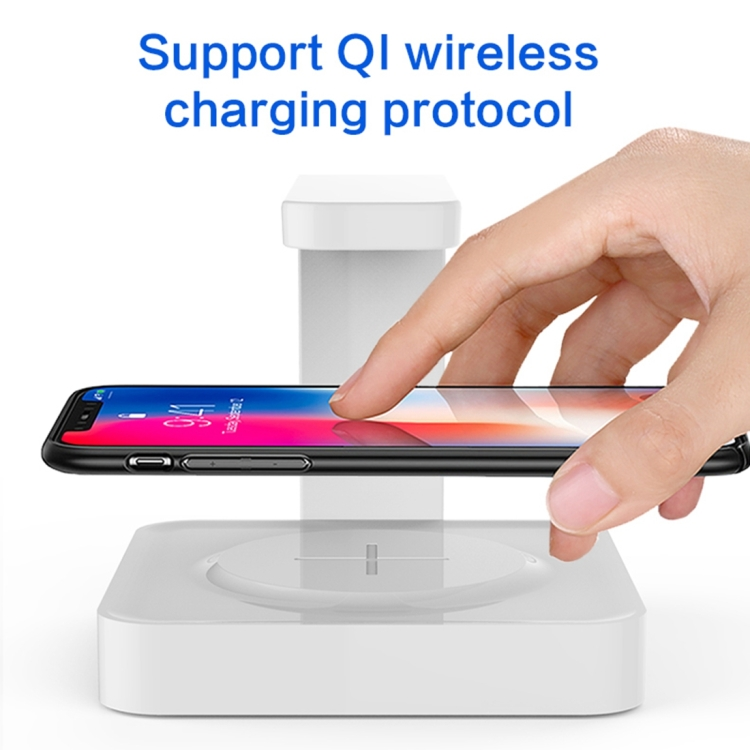 Multi-functional UV Light Disinfection Sterilization Wireless Charger for Phone (Black)