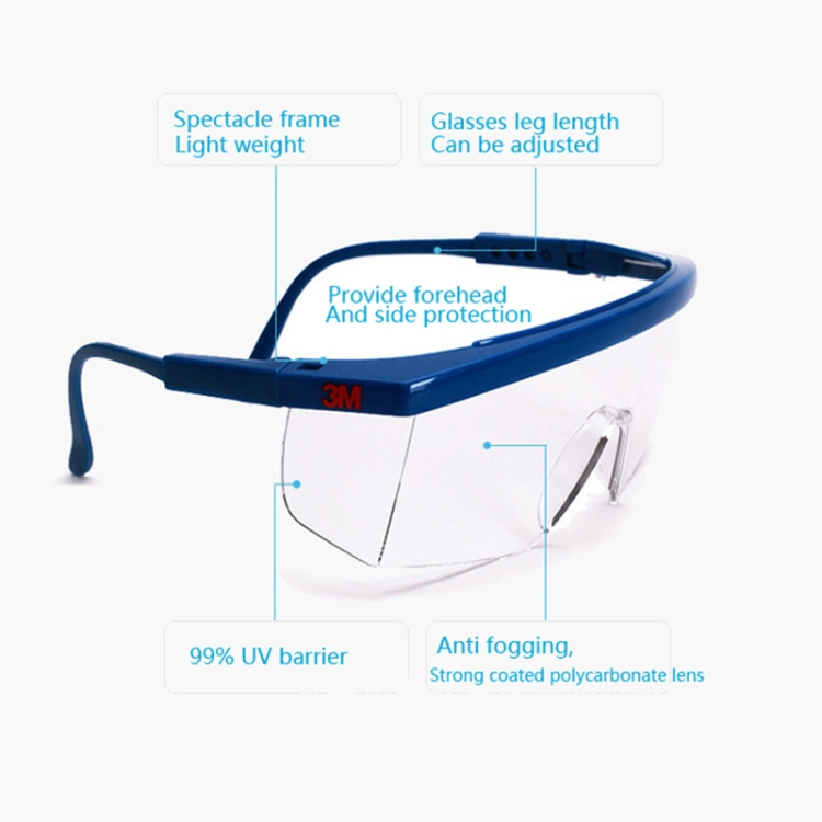 Working Safety Glasses Protective Work Spectacles Dust Windproof Anti-fog Goggles Eye Protection