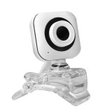 Crystal Clip HD Webcam CMOS 30FPS 0.8 Million Pixels USB 3.0 with Microphone for Notebook PC