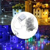 AC220C 10M 100 LED Fairy String Light AU Plug 8 Modes WaterproofChristmas Party Holiday Decorative Lamp