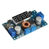 3pcs 5A Constant Voltage Current Step Down Power Supply Module With USB Charging Power Bank Conversion Board