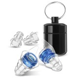 1 Pair 27db Noise Cancelling Hearing Protection Earplugs Camping Travel Cycling Sleeping Swimming Earplugs