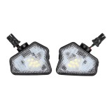2Pcs LED Car Rearview Mirror Lights Under Mirror Puddle Lights For Mercedes Benz W117 W204 W212 W221 W218
