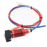 24V 40W All Metal Hotend Nozzle Extruder Kit 3D Printer Part for Creality 3D CR-10S Pro Series 1.75mm Filament