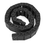 18mm x 50mm Openable Plastic Cable Drag Chain 1M Long Wire Carrier Drag Chain