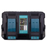 Universal USB Dual Charger DC18RD 14.4V-18V Li-Ion Battery Charger for Makita Power Tool Fast Charging Charger