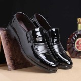 Men's Casual Office Formal Work Oxfords Leather Shoes Round Toe Business Dress