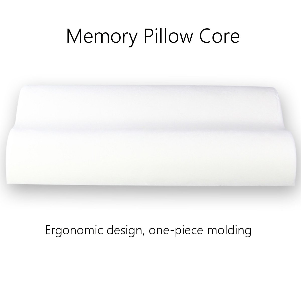 Memory Foam Health Care Orthopedic Rebound Neck Pain Relief Bed Sleeping Pillow