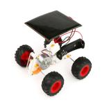 DIY Solar Electric Hybrid Car Manual Electric Mechanical Car Technology Small Production Solar Powered Toy