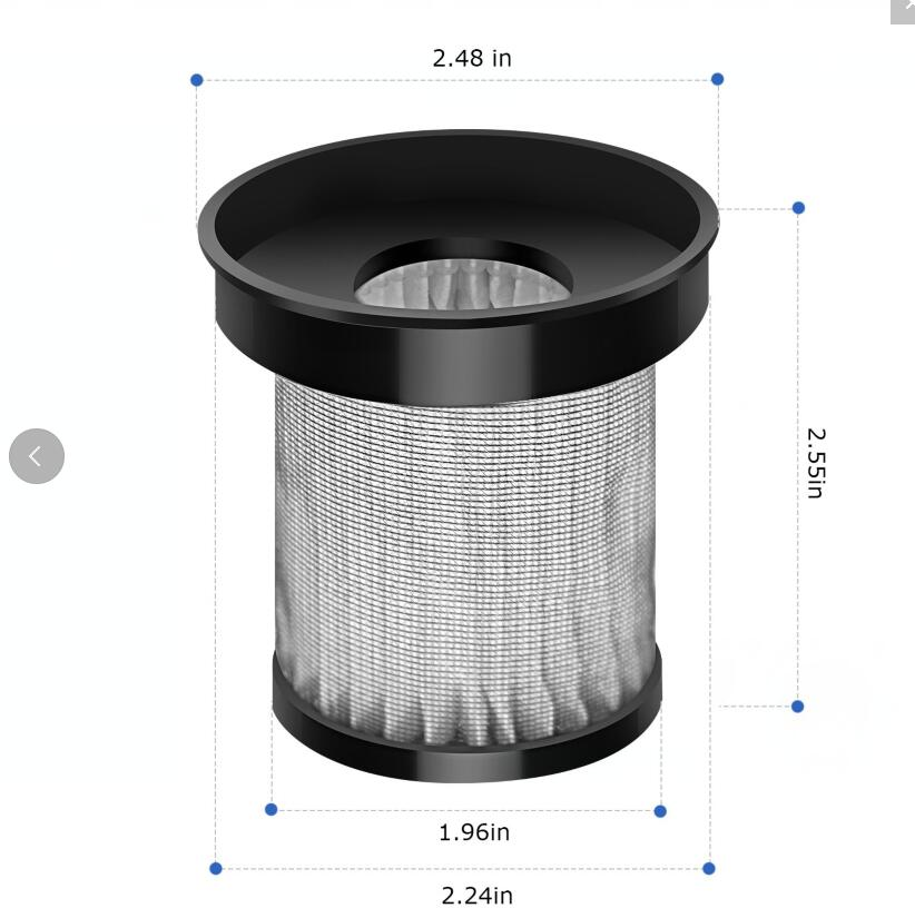 Air Purifier Carbon Filter Hydroponics Activated Carbon Filter Charcoal Indoor Plant Air Exhaust Filter Cotton Air Purifier Parts