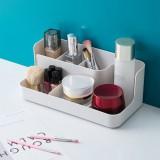 Storage Box Makeup Desktop Organizer For Cosmetic Make Up Brush Storage Case Home Office Bathroom Storage Box Grid