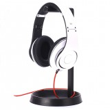 Bakeey Universal Metal Texture with Storage Base Headphone Holder Headset Desktop Display Holder Mount Bracket for Beats