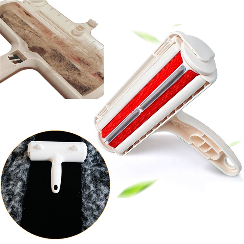 Fur Pet Hair Lint Fur Remover Cleaner Cloth Fluff Fabric Brush Cleaning Tool Reusable Pet Supplies