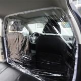 Car Isolation Film Fully Enclosed Transparent Isolation Curtain Protective Film