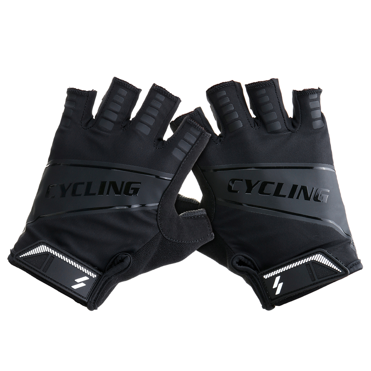 Pair Bike MTB Outdoor Fitness Sport Half Finger Gloves Breathable Cycling Gear Unisex