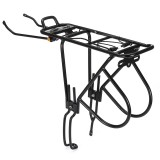 60KG Alloy Rear Bicycle Bike Pannier Cargo Rack Carrier Bag Luggage Cycle Mountain MTB