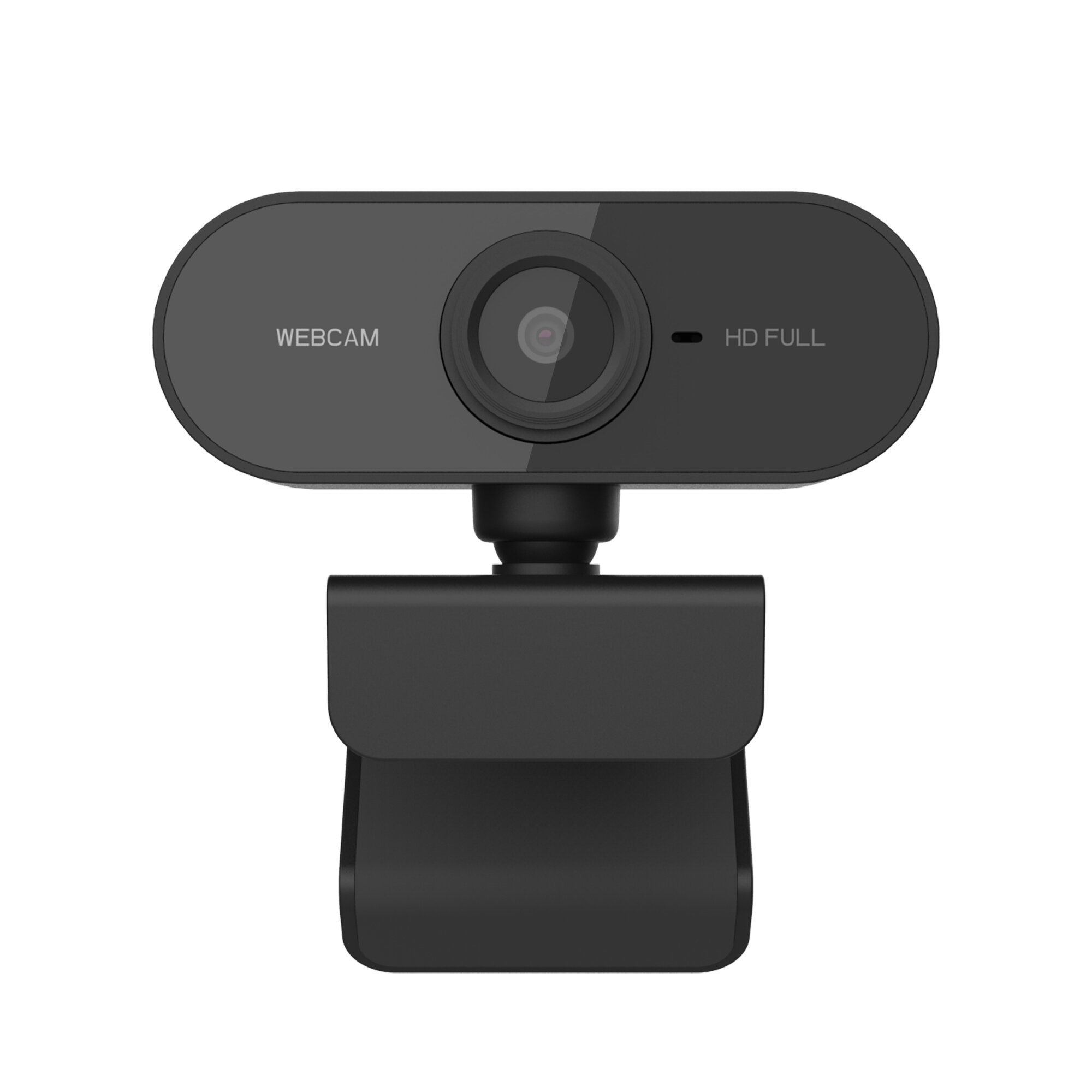 PC-01 HD 1080P Webcam 10 Million Pixels CMOS 30FPS USB 2.0 Built-in Microphone Network Teaching HD Camera for Laptop PC