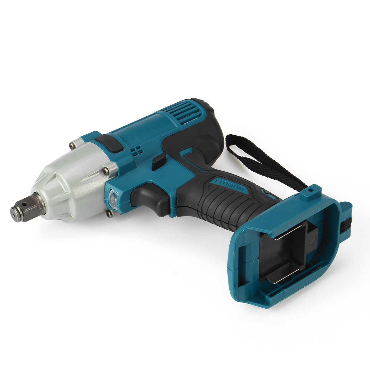 18V 480N.m. Li-Ion Cordless Impact Wrench Driver 1/2'' Brushed Electric Wrench Replacement for Makita Battery