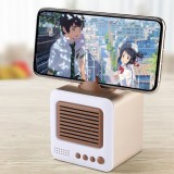 Bluetooth Speaker Retro TV-shaped Stand Mini Speaker Bluetooth Stereo HIFI Sound