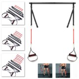 Fitness Pilates Stretch Rope Leg Arm Strength Muscle Training Yoga Band Squat Artifact Resistance Bands