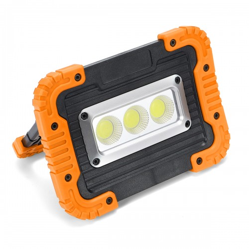 380W Work Flood Light Rechargeable Portable COB LED Spot Lamp Outdoor Camping