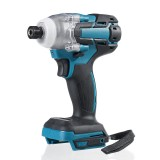 18V 520N.m Cordless Brushless Impact Drill Driver 2700W Electric Screwdriver Drill Stepless Speed Change Switch Adapted To 18V Makita battery
