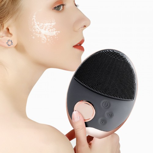 Electric Facial Cleansing Brush Wash Face Cleaning Beauty Machine Pore Cleaner Acne Remover Cleansing Massage Face Skin Beauty Massager