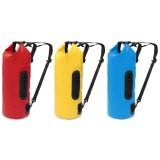 15L Sports Waterproof Dry Storage Bucket Bag Backpack Custom Outdoor Floating Boating Camping Bag