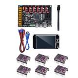 BIGTREETECH SKR PRO V1.1 32Bit Control Board Mainboard + TFT35 V2.0 Touch Screen + 6Pcs DRV8825 Driver Kit for 3D Printer