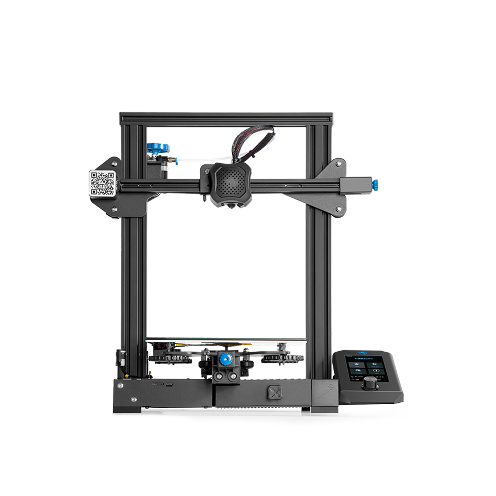 Creality 3D Ender-3 V2 Upgraded DIY 3D Printer Kit 220x220x250mm Printing Size Ultra-silent TMC2208/Silent Mainboard/Carborundum Glass Platform Support Resume Print