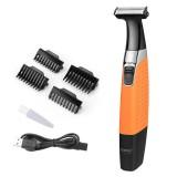 KEMEI Electric USB Rechargeable Shaver Beard Trimmer Men Cordless Razor Wet & Dry Use Body Trimer Male Shaving Machine