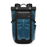 OZUKO 15.6 Inch Waterproof Backpack Laptop Bag Reflective Password Lock Camping Travel Shoulder Bag
