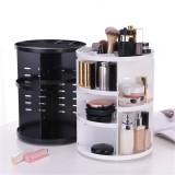 Cosmetic Makeup Organizer Storage Box Shelf 360 Rotating Display Acrylic Makeup Storage Baskets