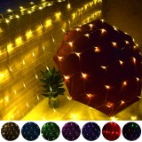 3x2M 200LED String Light Net Mesh Curtain Fairy Lamp Garden Wedding Party Decor EU Plug AC220V