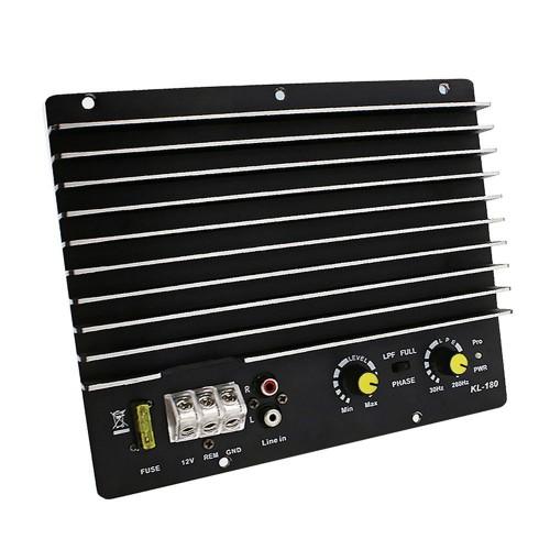 Kl-180 1200W Car Audio Power Amplifier Subwoofer Power Amplifier Board Audio Diy Car Player 12V DC
