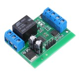 1Channel RS485 MODBUS RTU Serial Port Multi-function Relay Module PLC Controller for Smart Home 12V DC