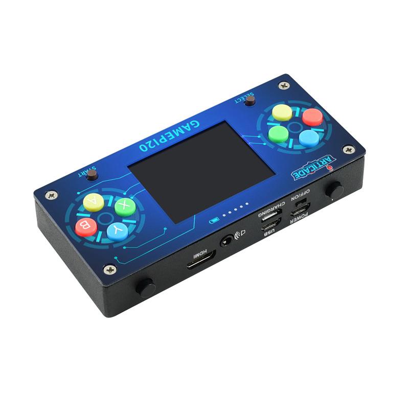 Waveshare GamePi20 16GB 2.0 inch IPS Display Handheld Video Game Console Based on Raspberry Pi Zero Zero W Zero WH