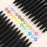 Colorful Hook Line Pen 12/24/36 Colors 0.4mm Needle Pen Set Markers Pens Fine Tip Drawing Pen Art Office School Supplies