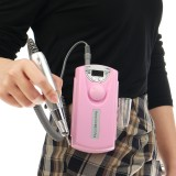 Portable Rechargeable Nail Drill Machine 36W Manicure Machine Electric Nail File Nail Art Tools Set for Nail Drill bits