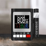 LED Digital Alarm Clock FM Radio Projection Alarm Clock With Dual Alarm Snooze Function USB Charging With Time Projector Snooze Function