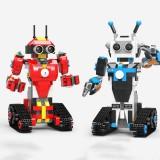XuanPing DIY STEAM Block Building RC Robot Stick / App Control Progarmmable Robot Toy