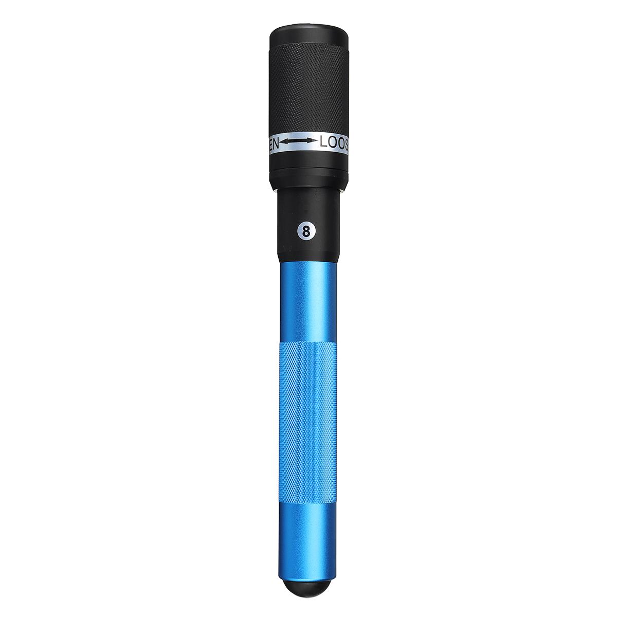 12 Inch Aluminum Pool Cue Long Stick Extension Push on Telescopic Snooker Billiard Accessories Billiard Cue Rack