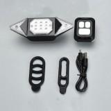 XANES STL18 SMD Wireless Remote Turn Signal Light Bike Tail Light Waterproof 2 Modes Cycling Rear Light