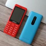 ODSCN 206+ 2.4 inch 1200mAh FM Radio Whatsapp bluetooth Vibration Torch Dual SIM Card Dual Stand Feature Phone