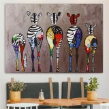 Unframed Multicolored Canvas Prints Paintings Home Decor Wall Art Picture