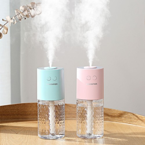 Projection Humidifier Mini USB Air Humidifier Colorful Atmosphere Lamp Projection Lamp Home Bedroom